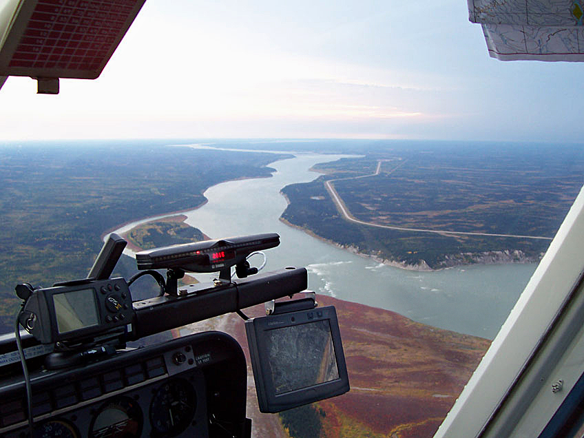 Flying a LiDAR Project. Photo courtest LSI
